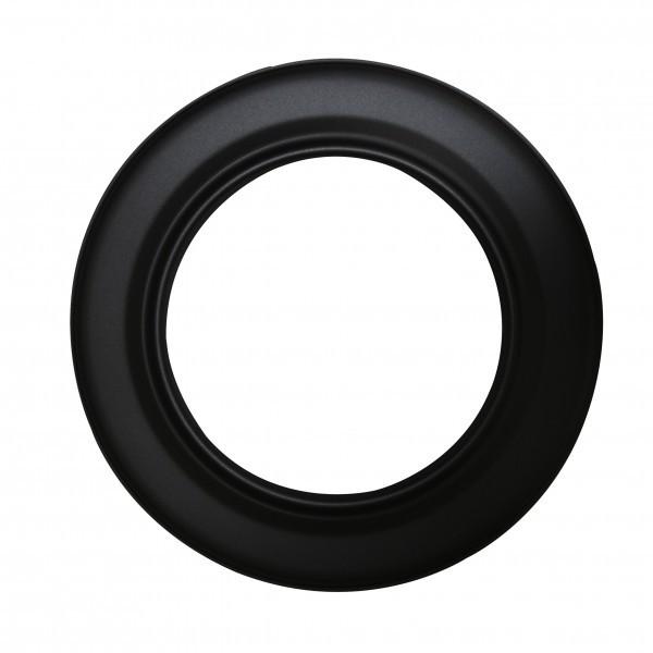 Rosette Senotherm schwarz 120 mm