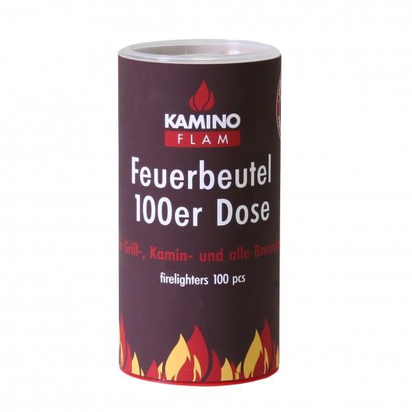 Anzündbeutel für Kamin, Grill & Ofen, 100 Stück