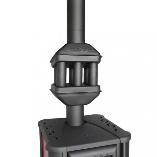 Abgaswärmetauscher Rauchgaskühler 0,6m x 120mm