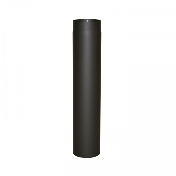 Ofenrohr Senotherm 2mm - 120 x 750mm (schwarz)