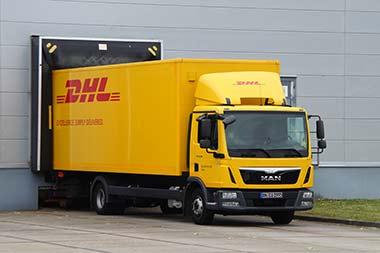 Schneller Versand mit DHL