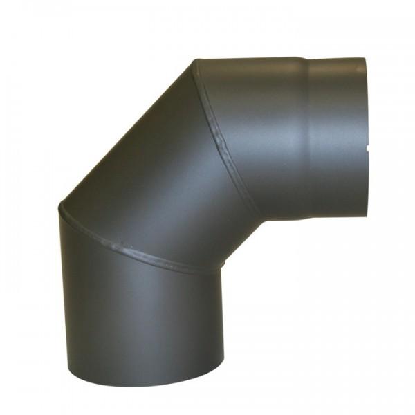 Senotherm Uni-Knie ohne Tür 90° 2mm 150mm (gussgrau)